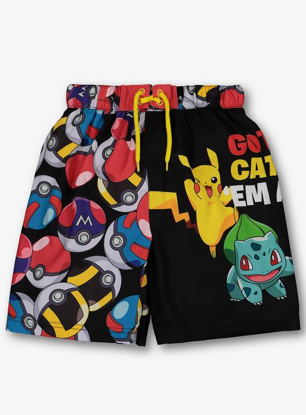 657b52f57f Buy Pokemon Multicoloured Swim Shorts - 4 years   Boys sportswear ...