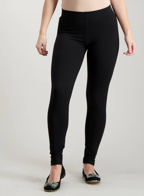 PETITE Black Luxury Soft Touch Leggings - 12