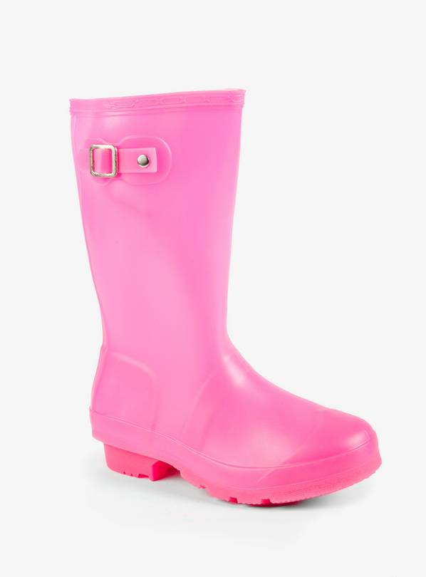 b1e273a91 Buy Bright Pink Wellies - 13 Infant | Shoes and boots | Argos