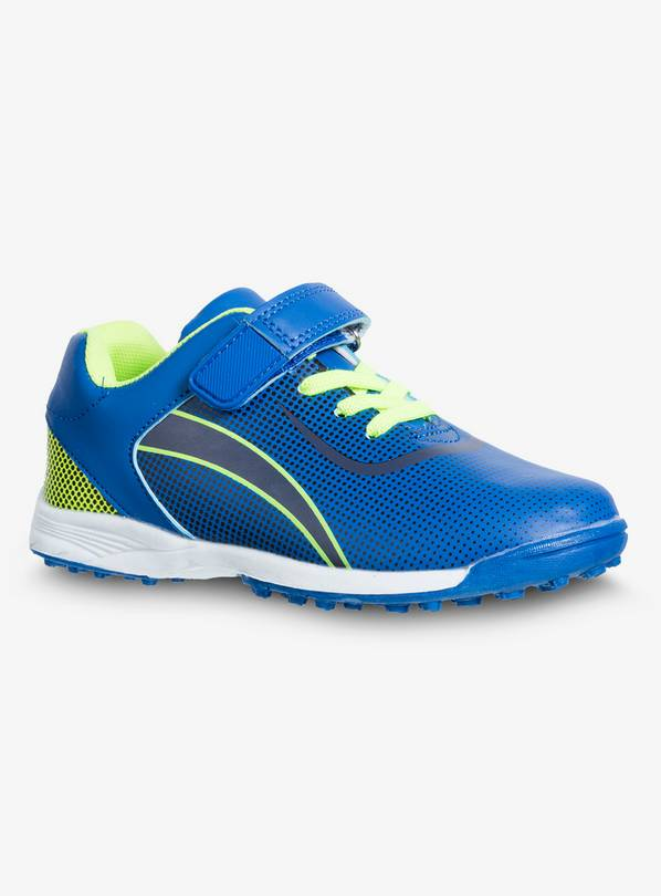 4518bec1c0d6 Buy Blue & Neon Astro Turf Football Trainers - 4   Girls sportswear ...