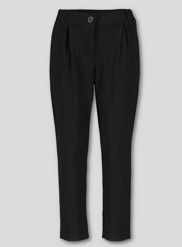 Black Stretch School Trousers - 14 years