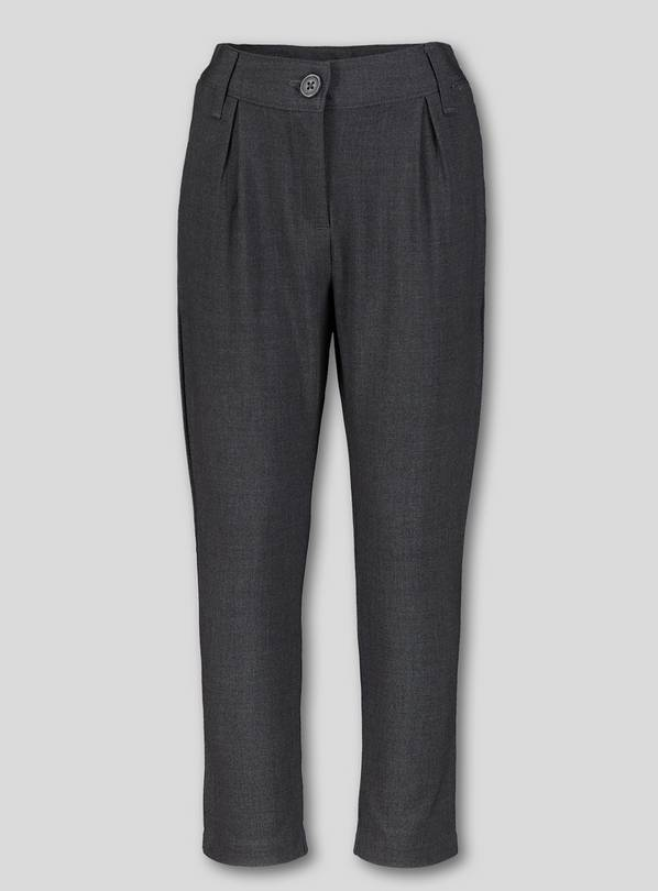 Grey Stretch School Trousers - 12 years