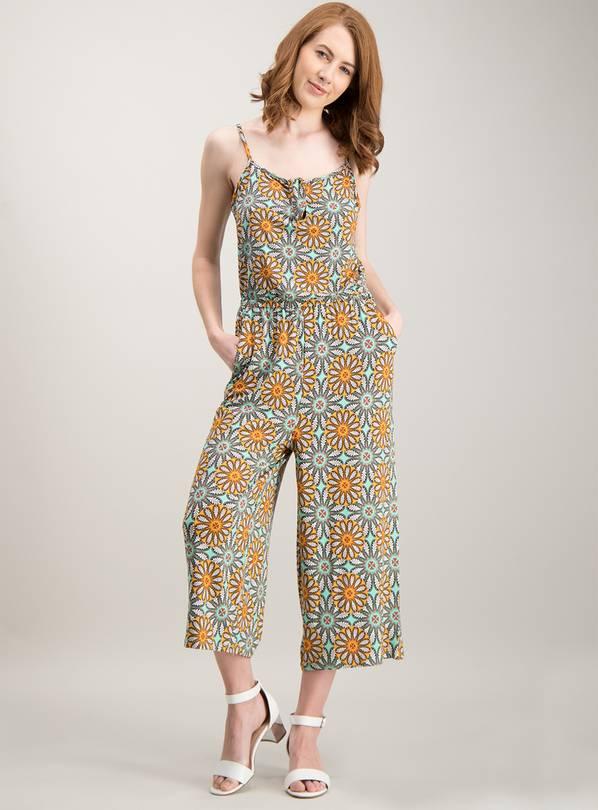 a3c30bda4b5d Buy Online Exclusive Multicoloured Bow Detail Culotte Jumpsuit ...
