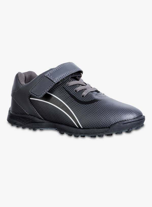 Black Astro Turf Football Trainers - 12 Infant