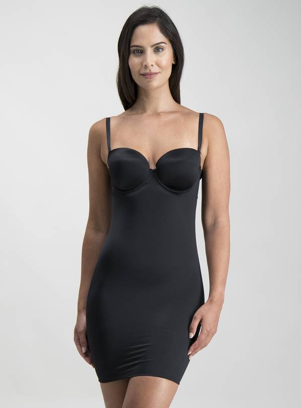 Black Firm Control Cupped Shaping Slip - 34D