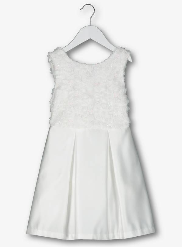 Ivory Bridesmaid Occasion Dress - 3 years