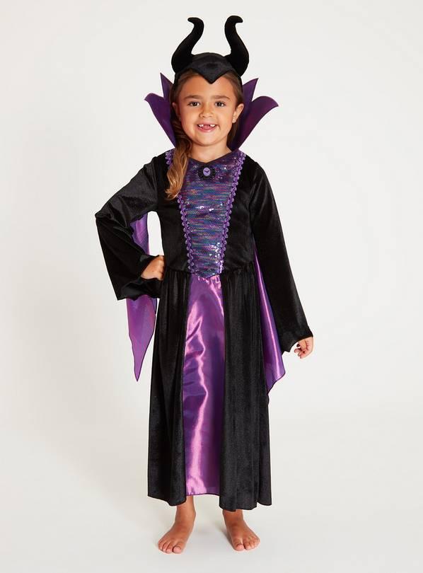 Buy Disney Maleficent Purple 2 Piece Costume 7 8 Years Kids Fancy Dress Costumes Argos