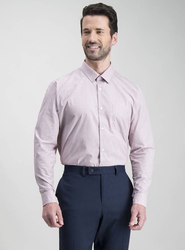Multicoloured Check Slim Fit Shirts 2 Pack - 14