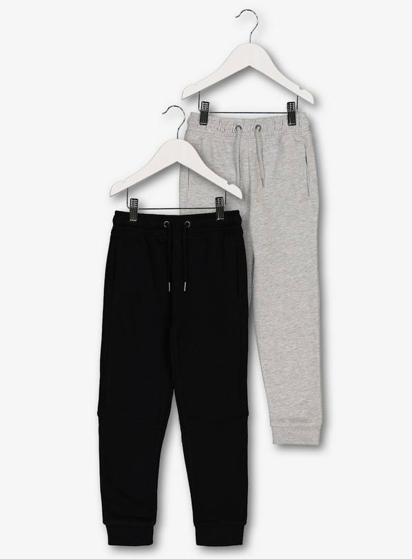 Grey & Black Joggers 2 Pack - 4 years
