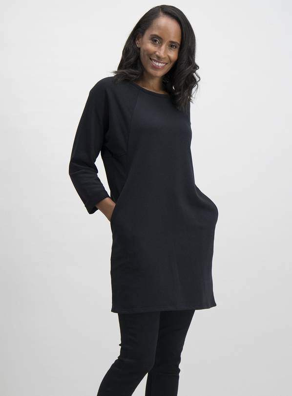 Black Multi-Seam Tunic - 8