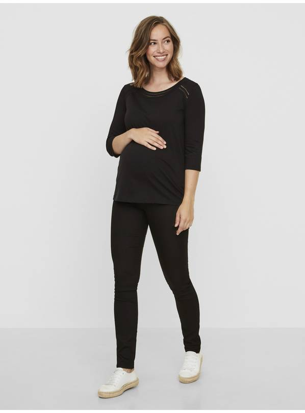 Maternity Black Slim Fit Jeans - 10