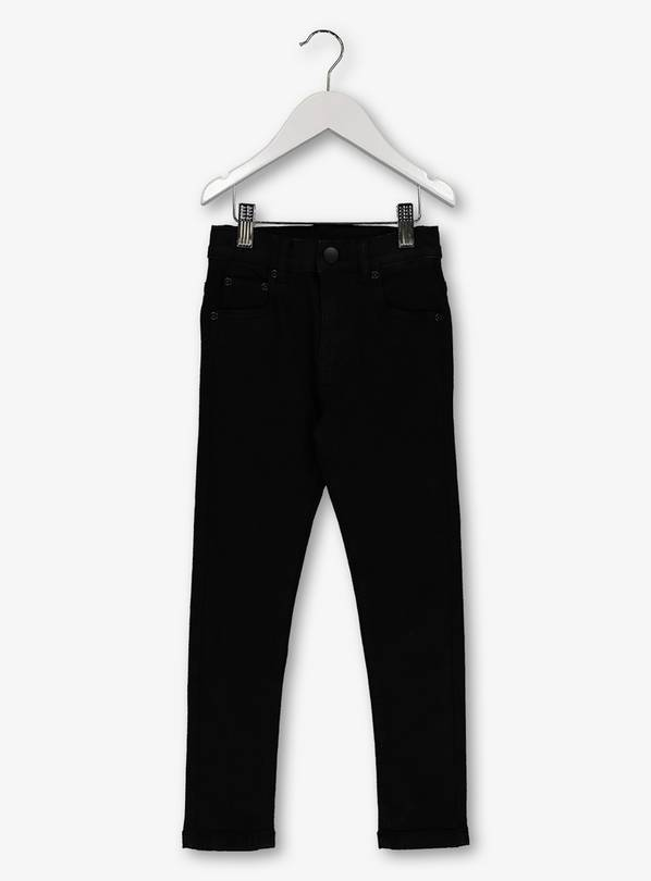Black Skinny Jeans With Stretch - 7 years