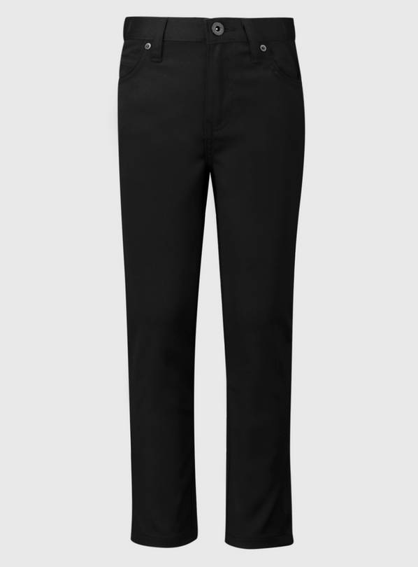 Black Skinny Jean Style Trousers - 4 years