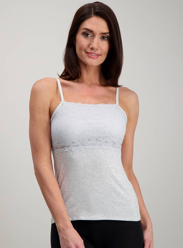 Grey Secret Support Camisole - 26