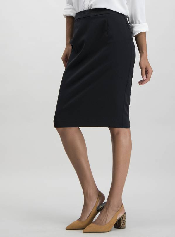 Black Pencil Skirt - 12