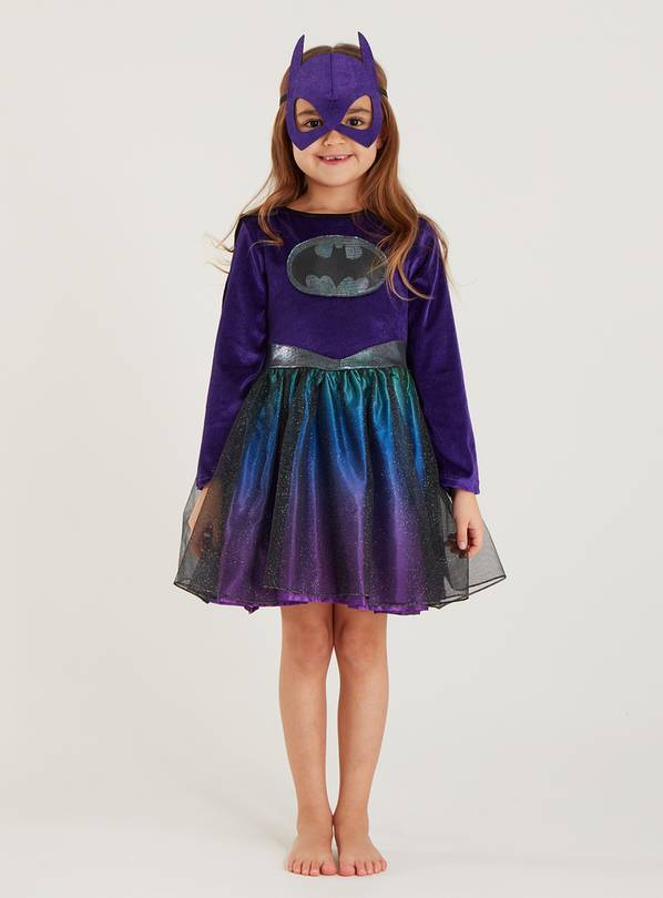 DC Comics Batgirl Purple Costume - 9-10 years