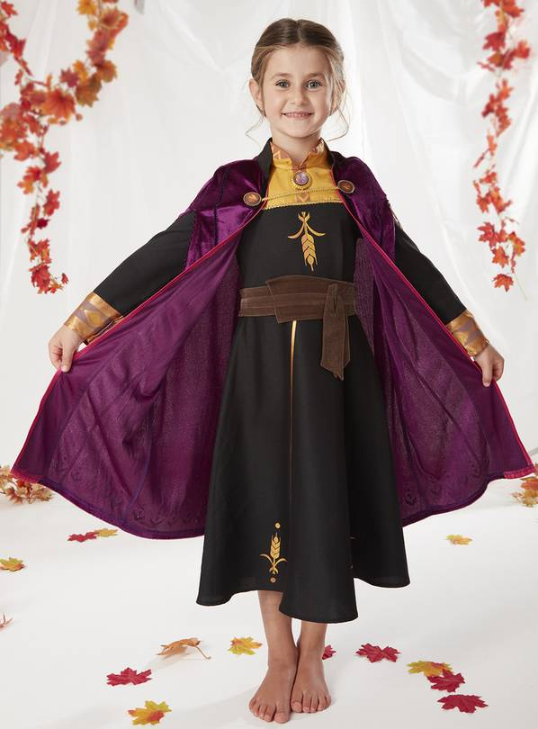 Disney Frozen 2 Black Anna Costume - 2-3 years