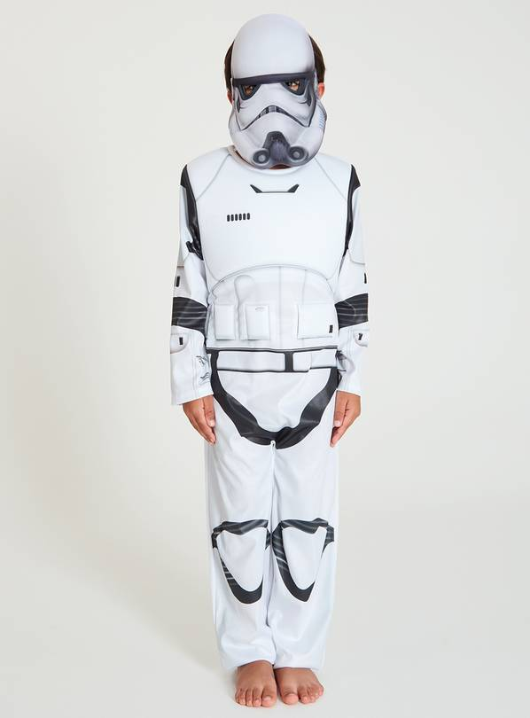 Star Wars Stormtrooper White Costume - 3-4 Years