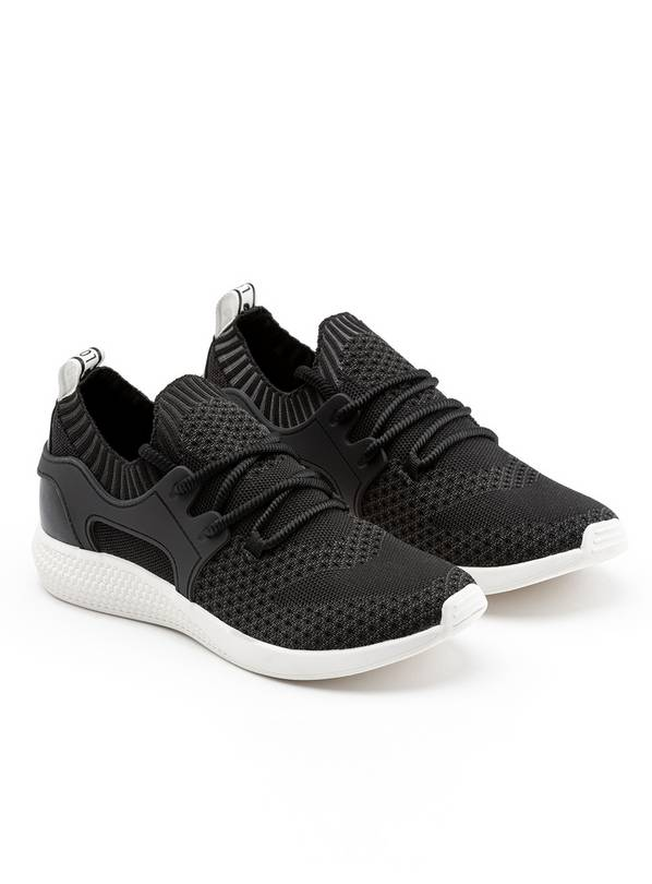 LOVE OUR PLANET Black Vegan Trainer - 8