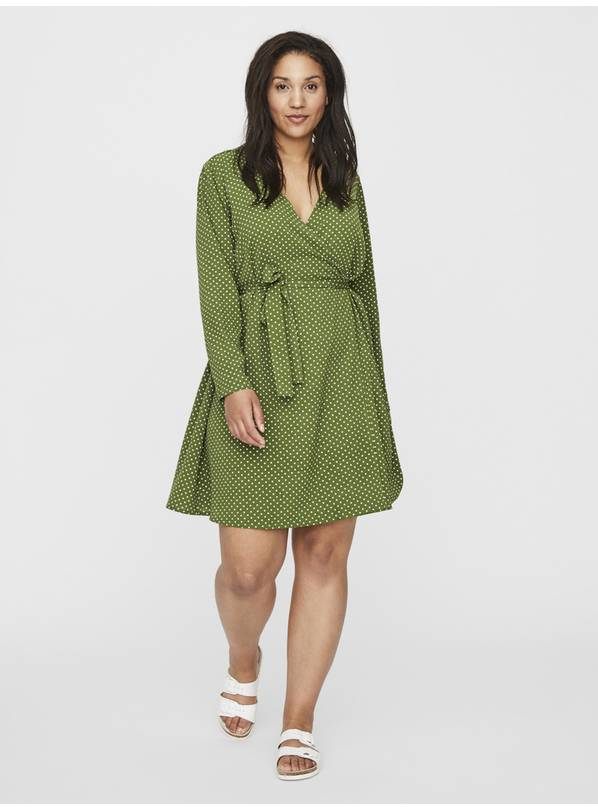 Green Spotted Dress - 18