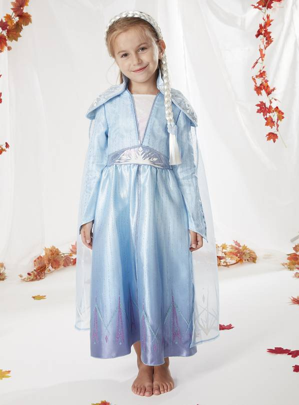 Disney Frozen 2 Elsa Blue Costume - 2-3 years
