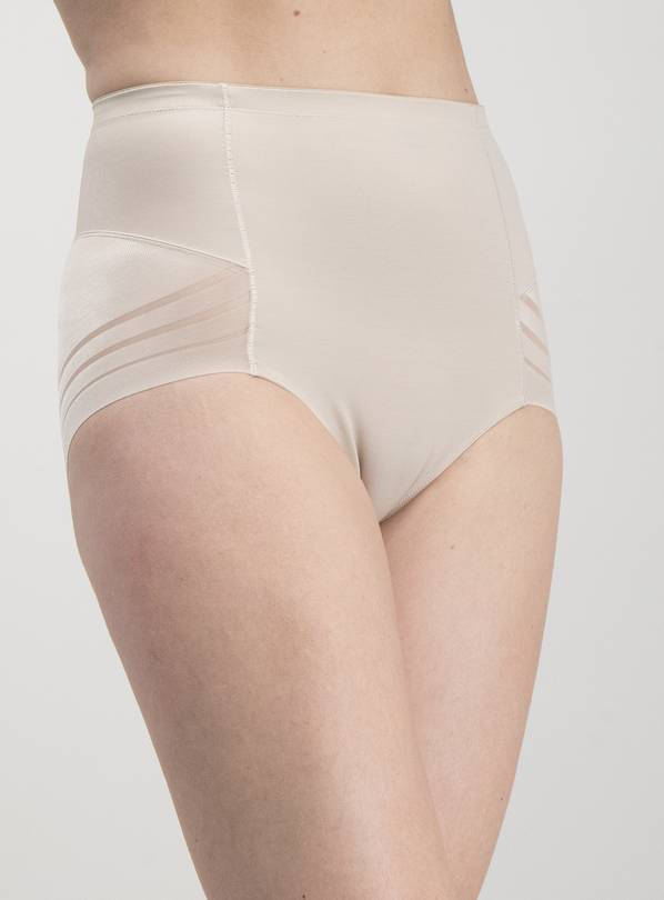 Secret Shaping Latte Nude Tummy Sculpting No VPL Knickers -