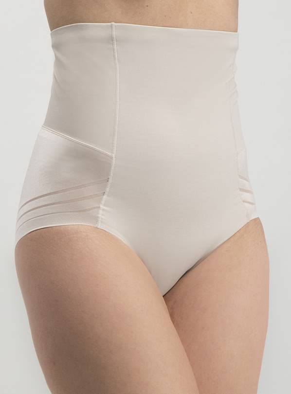 Secret Shaping Latte Nude No VPL High Waist Knickers - 14