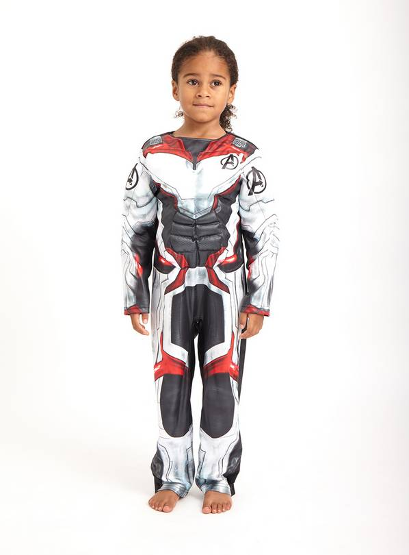 Marvel Avengers Grey Tech Costume - 5-6 years