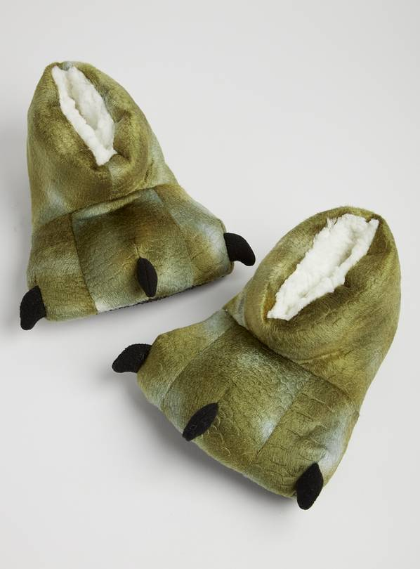 Green Claw Slippers - 12-13 Infant
