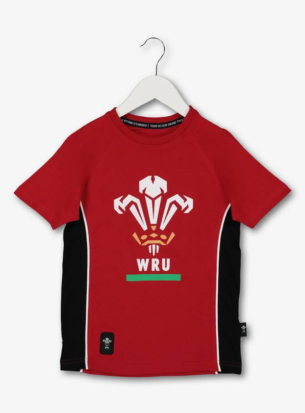 Rugby Wales Red T-Shirt - 11 years
