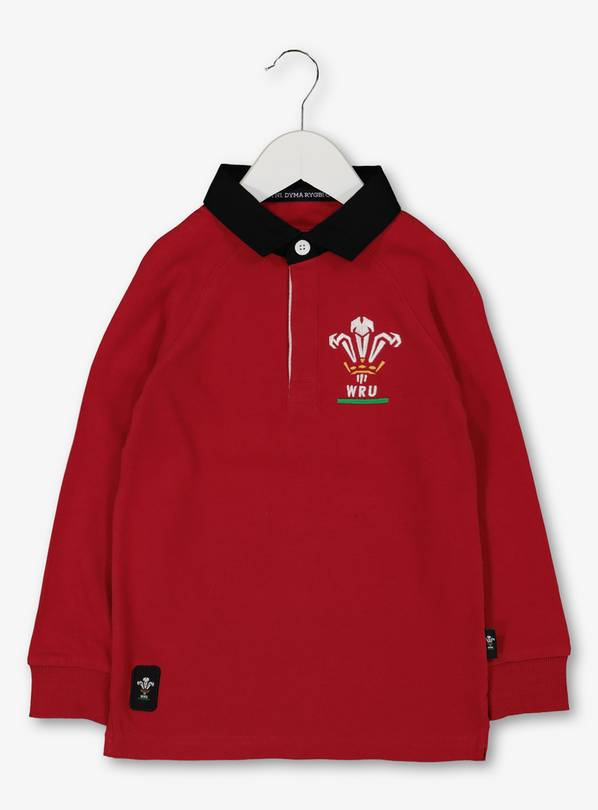 Wales Rugby Red Top - 7 years