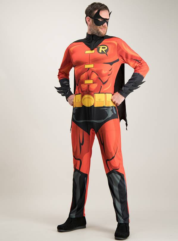 RUBIE'S Robin Red & Black Costume Set - S/M