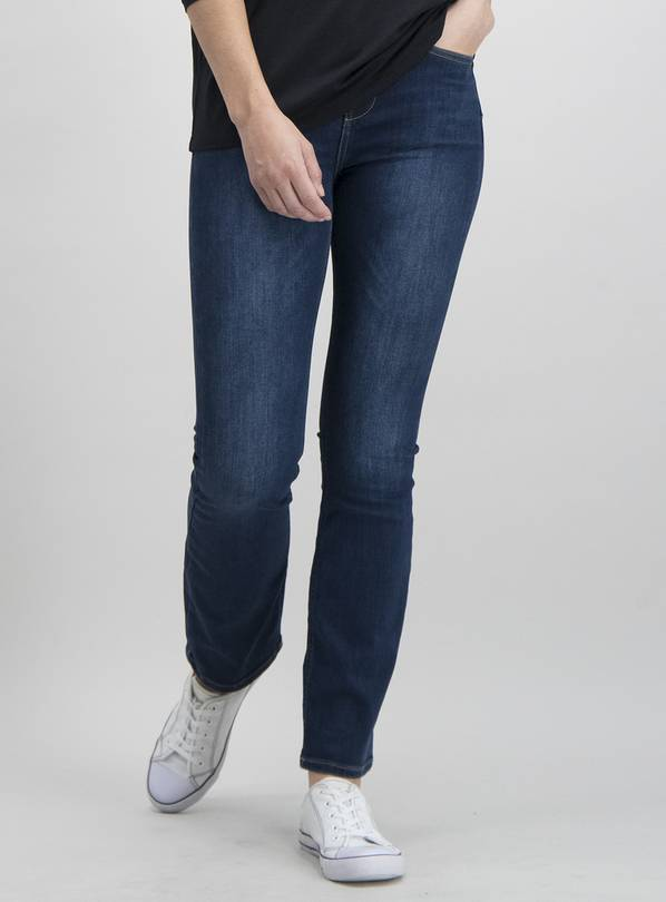 Dark Denim Shape, Sculpt & Lift Bootcut Jeans - 10L