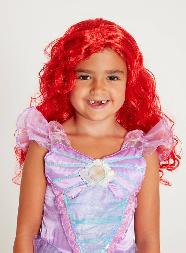 RUBIE'S Disney Princess Red Ariel Wig - One Size