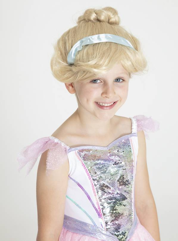 RUBIE'S Disney Princess Cinderella Yellow Royale Wig - One S