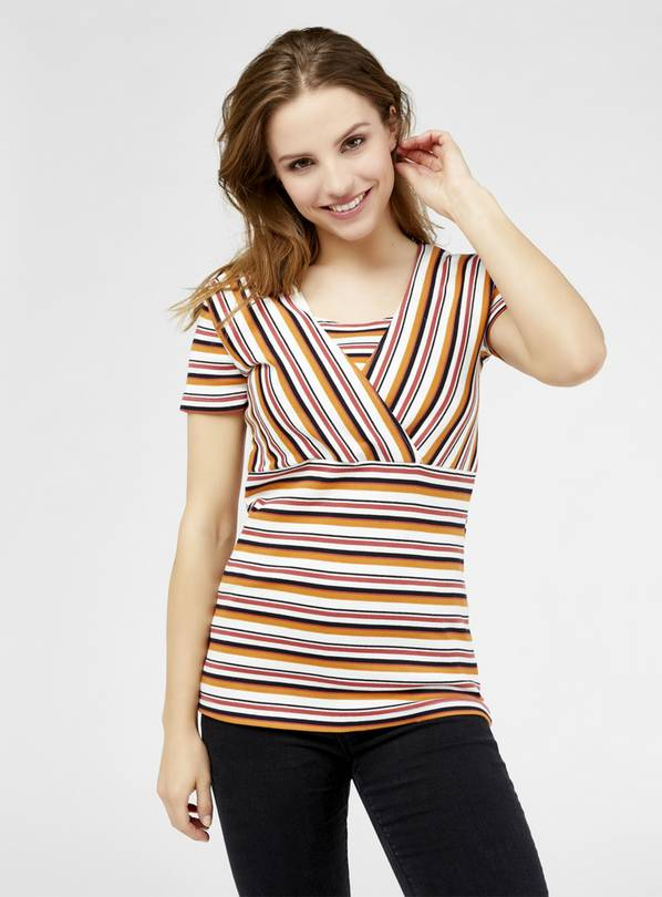 Striped Nursing Top - 10