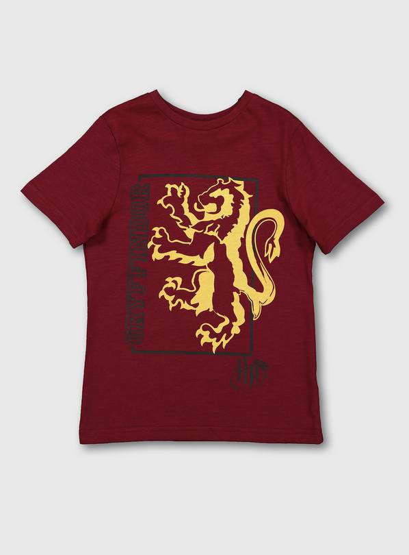 Harry Potter Dark Red Gryffindor T-Shirt - 8 years