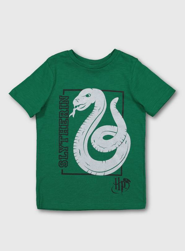 Harry Potter Green Slytherin T-Shirt - 4 years