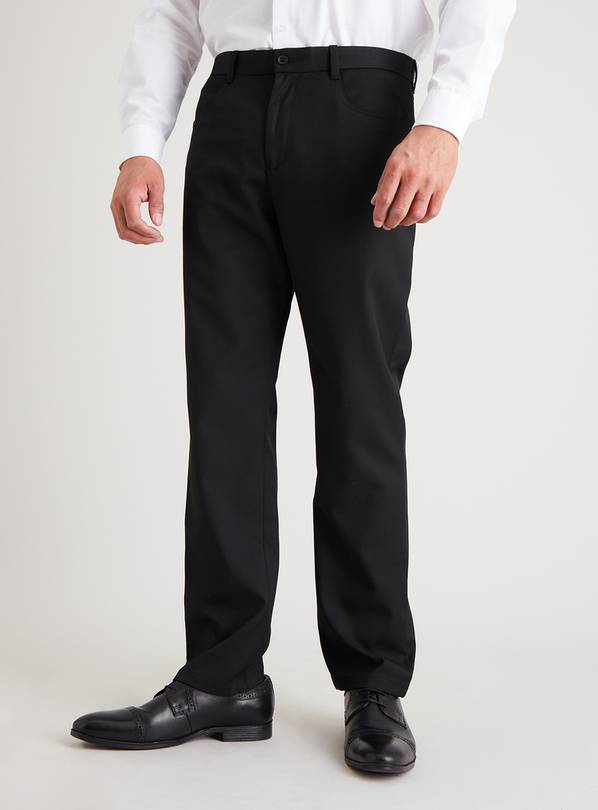 Black 5 pocket Regular Fit Trousers - W42 L31