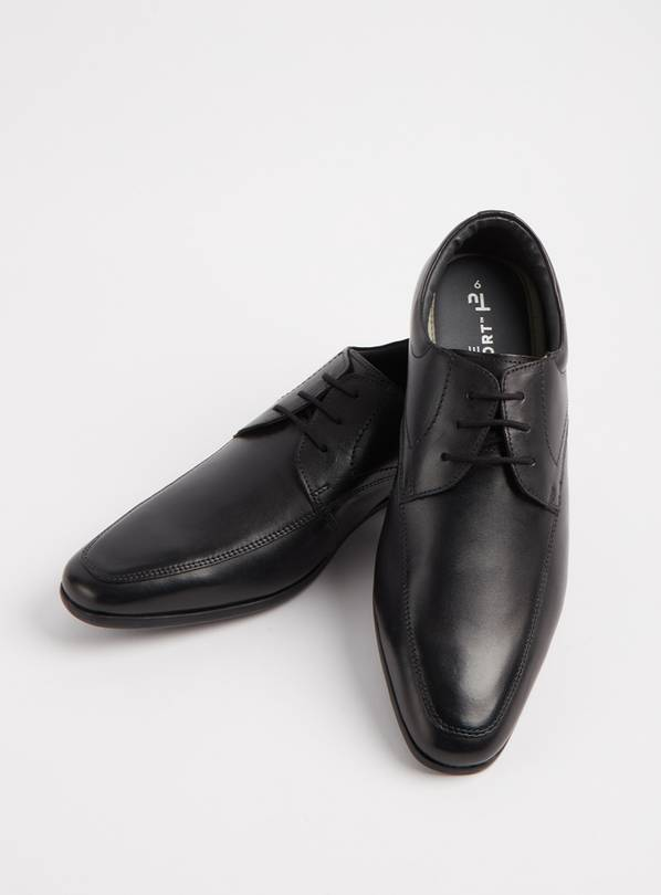 Sole Comfort Black Leather Lace Up Formal Shoes - 9