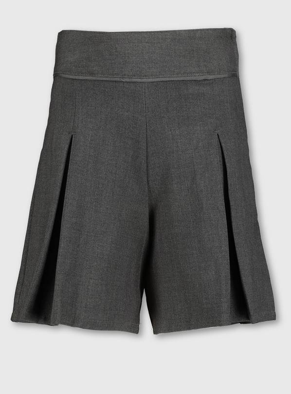 Grey School Culottes With Stretch - 6 years