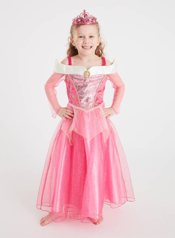 Disney Princess Sleeping Beauty Pink Costume - 3-4 Years