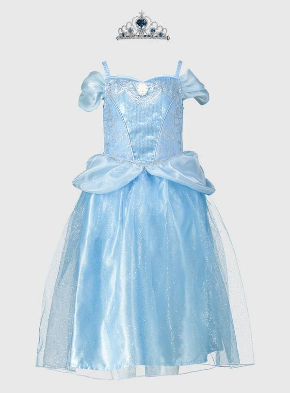 Disney Princess Cinderella Blue Costume - 2-3 years