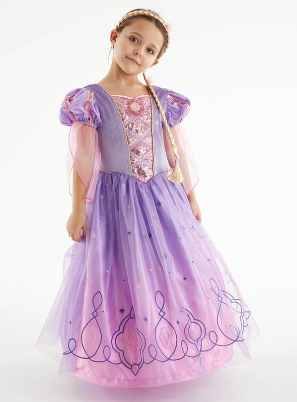 Disney Princess Purple Rapunzel Costume - 2-3 years