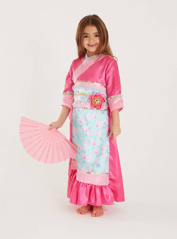 Disney Princess Mulan Pink Costume - 3-4 Years
