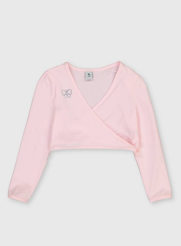 Pink Ballet Wrap Cardigan - 3 years