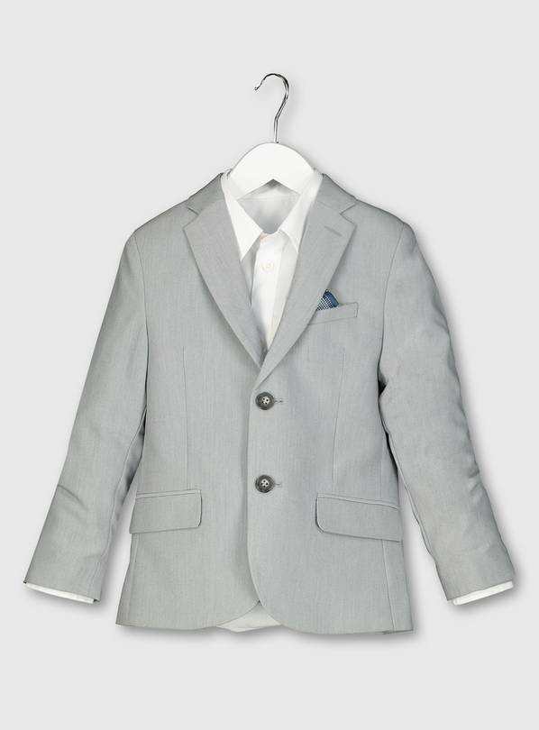 Pale Grey Formal Jacket - 10 years
