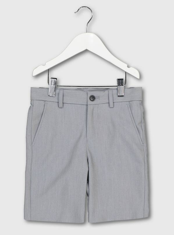 Pale Grey Formal Shorts - 3 years