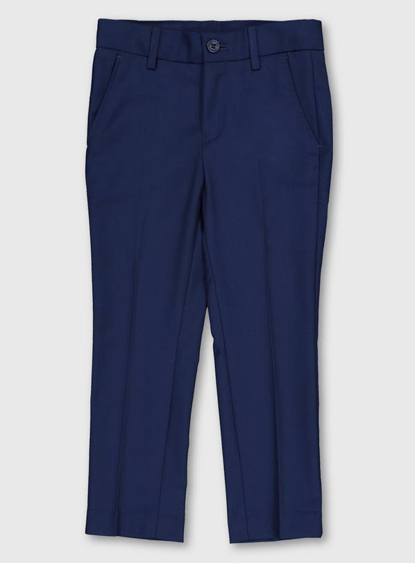 Blue Formal Trousers - 14 years