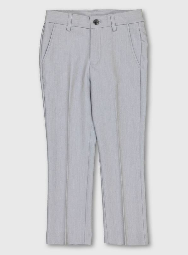 Pale Grey Formal Trousers - 4 years